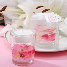 wedding favor candles gel candle wedding favor