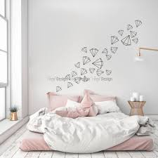 scattered diamonds wall decal elegance wall decals scattered diamonds wall decal