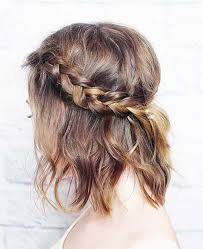 plaited hairstyles for short hair 15 braided hairstyles for short hair short hairstyles haircuts