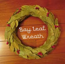 bay leaf wreath from woo to you diy bay leaf wreath