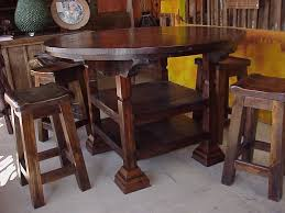 Rustic Bistro Table And Chairs Splendid Rustic Bistro Table And Chairs With Rustic Pub Table