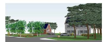 maynard road homes ground breaking for 3 zero energy affordable
