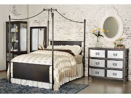 Iron Canopy Bed Bedroom Magnolia Home Cathedral Iron Canopy Bed
