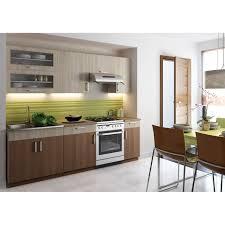 cuisine en noyer agate noyer clair foncé 2m40 7 meubles achat vente cuisine