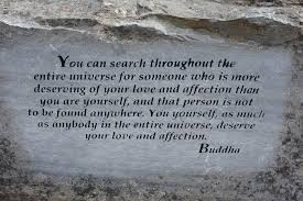Meaningful quote of Buddha Picture of Garden of e Thousand
