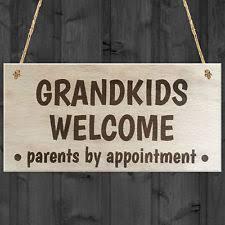 Grandparent Plaques Wooden Grandchildren Decorative Plaques U0026 Signs Ebay