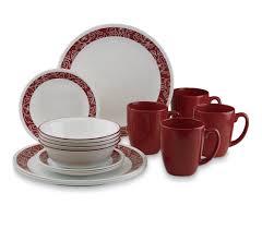 Corelle Outlets Corelle Livingware 16 Piece Dinnerware Set Bandhani