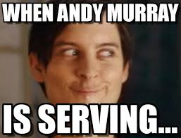 Andy Murray Meme - when andy murray spiderman peter parker meme on memegen