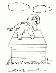 dogs coloring pages boxer cute dog pictures color animal