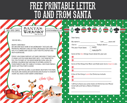 elf letter template free printable letter to and from santa sohosonnet creative living