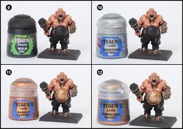 tutorial how to paint ogre kingdom u0027s ogre bulls tale of painters