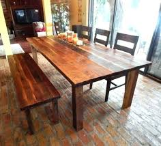 custom wood dining tables reclaimed dining table set sumr info