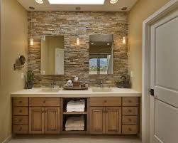 mirror ideas for master bathroom mirror on a mirrored wall