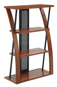 Aurora Office Furniture by Amazon Com Office Star Aurora 3 Shelf Bookcase In Medium Oak