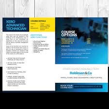 flyer design cost uk modern serious brochure design for robinson co by uk desi on entry