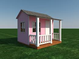 build your own shed or playhouse for the kids diy plans fun to