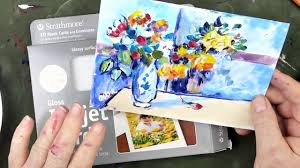 How To Paint A Vase How To Use Acrylics As Watercolors To Paint Flowers In A Vase By