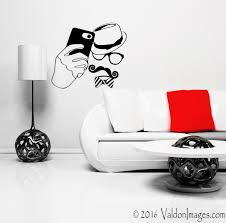 hipster selfie wall decal wall stickers hipster wall decal zoom