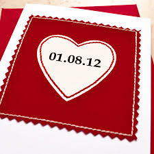 special date anniversary card by jenny arnott cards u0026 gifts