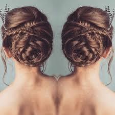 chagne pour mariage mariage les plus belles coiffures pour cheveux longs repérées