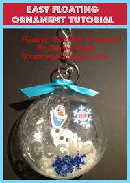 easy floating ornament tutorial cricut