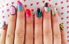 nail designs black nail tips easy way to be elegant nail tips