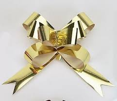 metallic gold ribbon butterfly bow metallic ribbon 4 w item 8285314