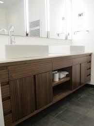 Solid Wood Vanities For Bathrooms Traditional Cherry Blossom Wooden Vanity With White Bowl Washbasin