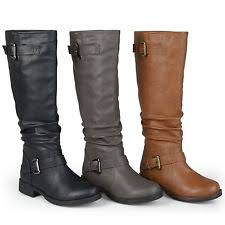 womens boots for wide wide calf boots ebay
