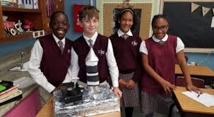 students from st st school creative science and