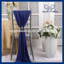 chair sashes for sale sh003b wholesale cheap fancy wedding blue chiffon
