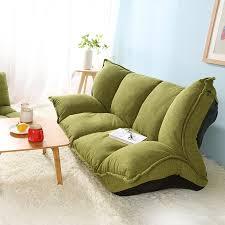 sofa bed 5 position adjustable sofa plaid japanese style furniture