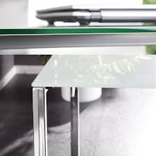Schreibtisch Glas Cagü Design Schreibtisch Eckschreibtisch Manhattan Weiss Glas