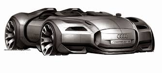 audi rosemeyer denis zhuravlev design audi rosemeyer sketch u2022 transportation