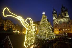most beautiful christmas lighting in the world home design and