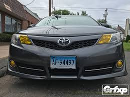 toyota camry limo drl overlays for toyota camry 2014 u2013 grafixpressions