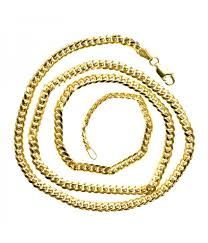 solid yellow gold necklace images 14k solid yellow gold miami cuban chain 30 inches 3 5mm thick jpg