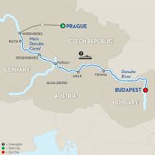 Passau Germany Map by 11 Day River Cruise Prague To Budapest Avalon Waterways River Cruises