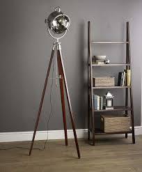 tripod floor l wooden legs alluring vintage tripod floor l design with wooden base l antique