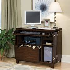 Wooden Desks For Home Office by Furniture Contemporary Home Office Idea With Computer Armoire