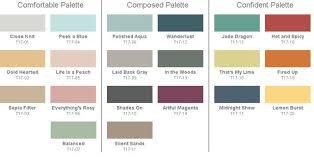 2017 color pallets behr 2017 paint color trends color palette collections