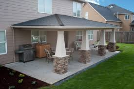 Attached Patio Cover Designs Image Of Covered Patio Designs Amazing Attached Patio Cover