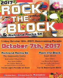 Light Up Rocks by Richland Rocks U201crock The Block U201d U2013 Richland Center Tourism