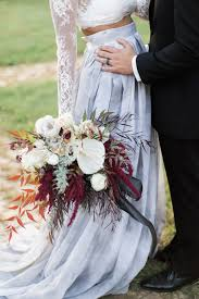 gothic glam fall wedding ideas ruffled