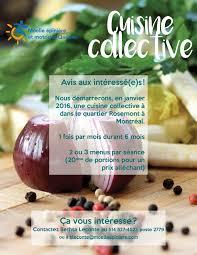 cuisine collective montr l cuisine collective à montréal moelle epinière et motricité québec