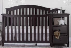 sorelle berkley 4 in 1 convertible crib and changer espresso