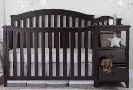 Convertible Crib And Changer Sorelle Berkley 4 In 1 Convertible Crib And Changer Espresso