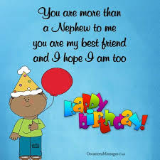 birthday wishes for nephew from uncle occasions messages