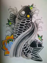 black koi by kirzten on deviantart