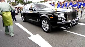 roll royce brunei jubli emas 2017 brunei darussalam youtube